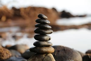 Balancing Stones is very therapeutic